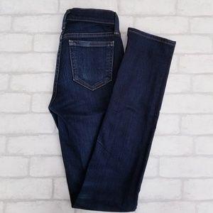 J. CREW Reid Skinny Jeans Dark Wash Jeans 25